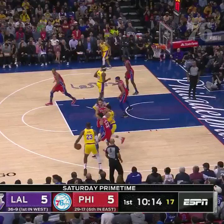 Fans absolutely loved Matisse Thybulle stripping LeBron James