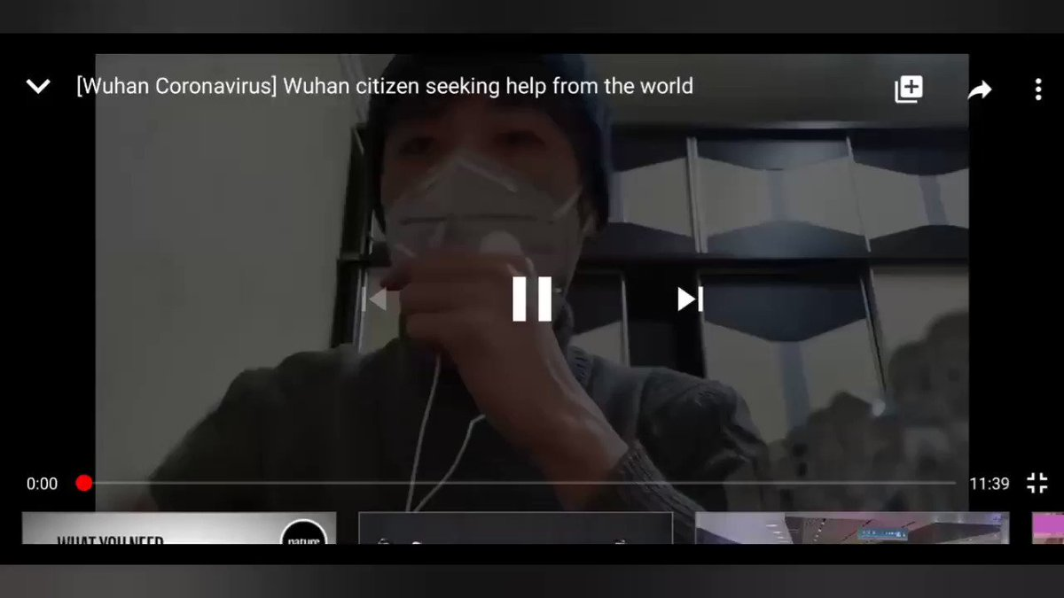 A man from China is risking his life to spill the truth of the current situation of Wuhan, China in the middle of #CoronavirusOutbreak This man is seeking help from the world. Go watch before China take this video down