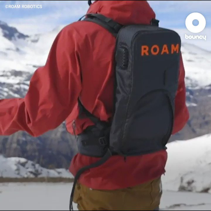 何歳になってもゲレンデを楽しめるよ⛷ by ROAM ROBOTICS価格や入手方法はこちら👉#ゲレンデ #スキー #スキー場 #ウィンタースポーツ