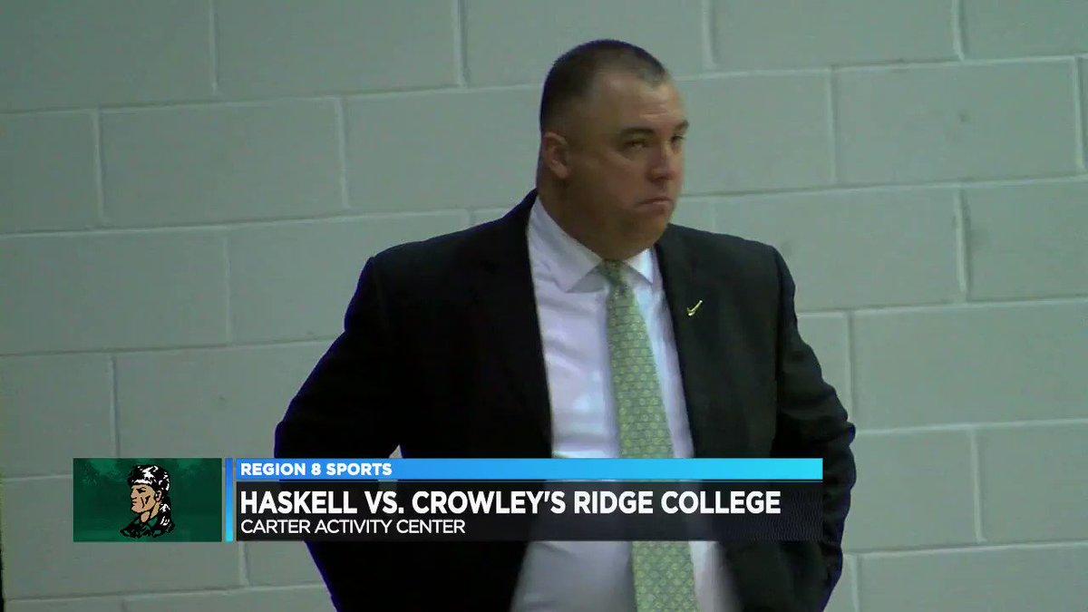 Image for the Tweet beginning: Crowley's Ridge College men fall