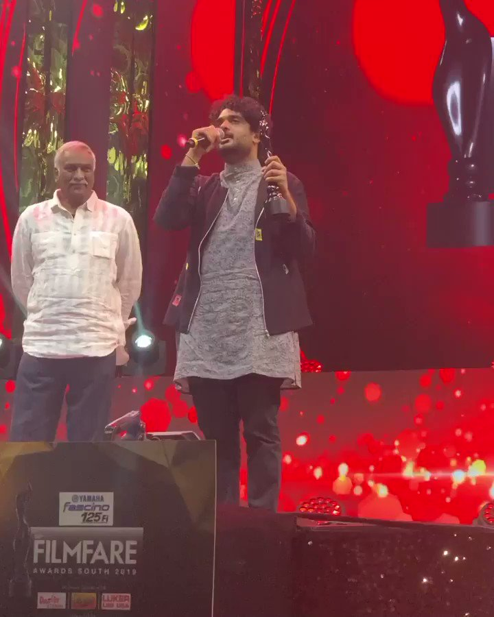 Watch your biggest stars take stage at the #FilmfareAwards (South) 2019 only on Suvarna and Suvarna HD. @yamahamotorindia #Yamahafascino125Fi