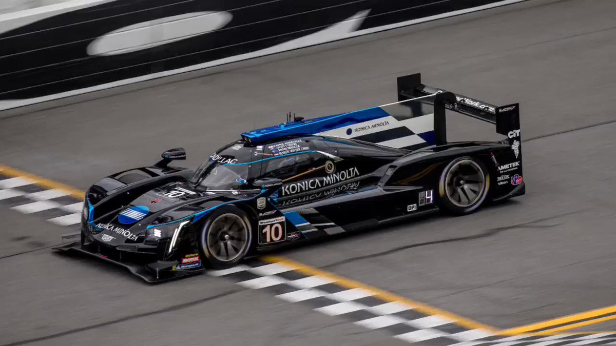 Image for the Tweet beginning: TRIUMPH AT THE #ROLEX24!!!  BACK-TO-BACK VICTORIES