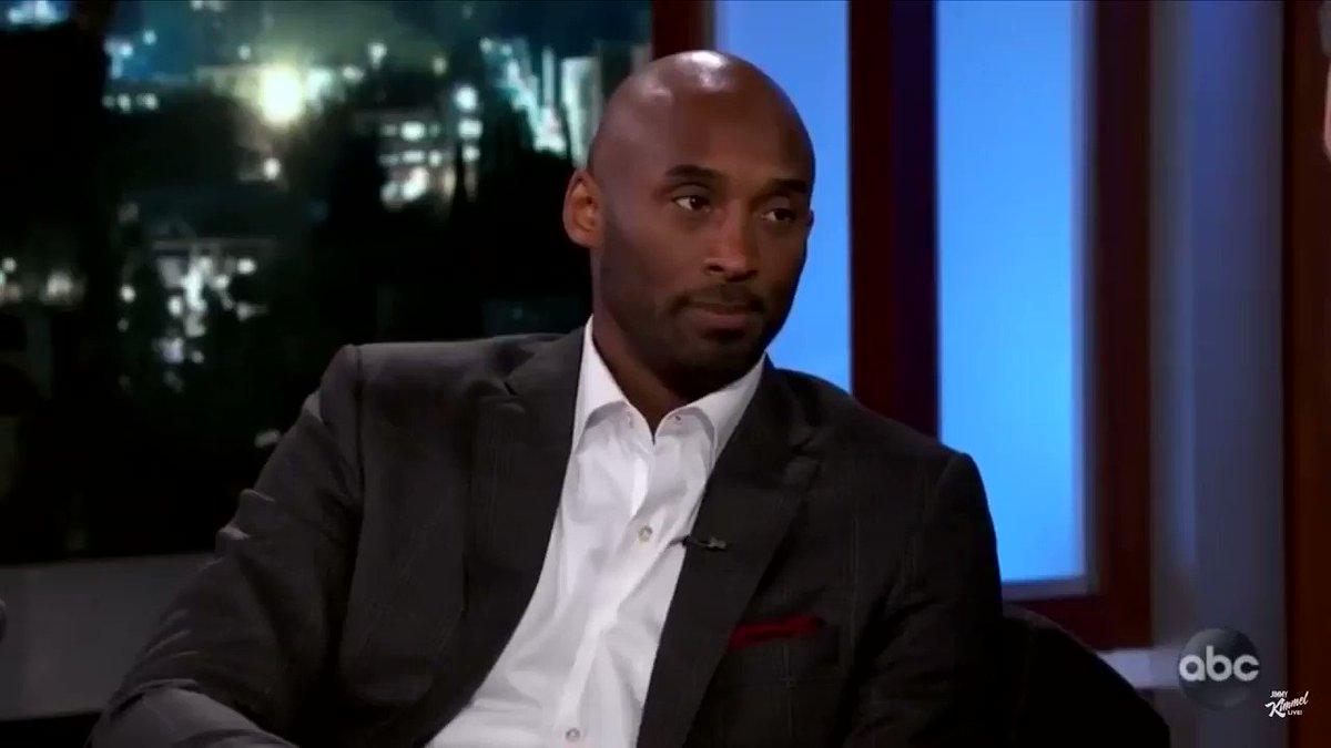 Kobe talking about Gianna literally just broke my heart