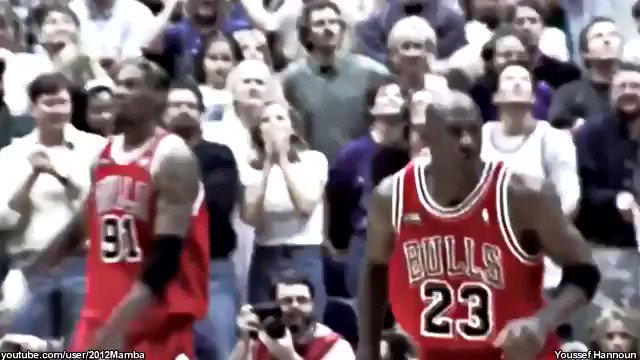 Guys are talking about the way Kobe Bryant would mimic Michael Jordan ... Which is why this video is amazing  (@1053TheFan @1053SS @RJChoppy @RDubThree)
