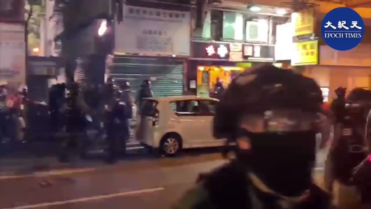 A Hong Kong riot police groped a female reporter when handling of protests. Other police officers refused to disclose the offender's identity, and even besieged her and pepper-sprayed in her face. #hkpolicebrutality  #sexualassault