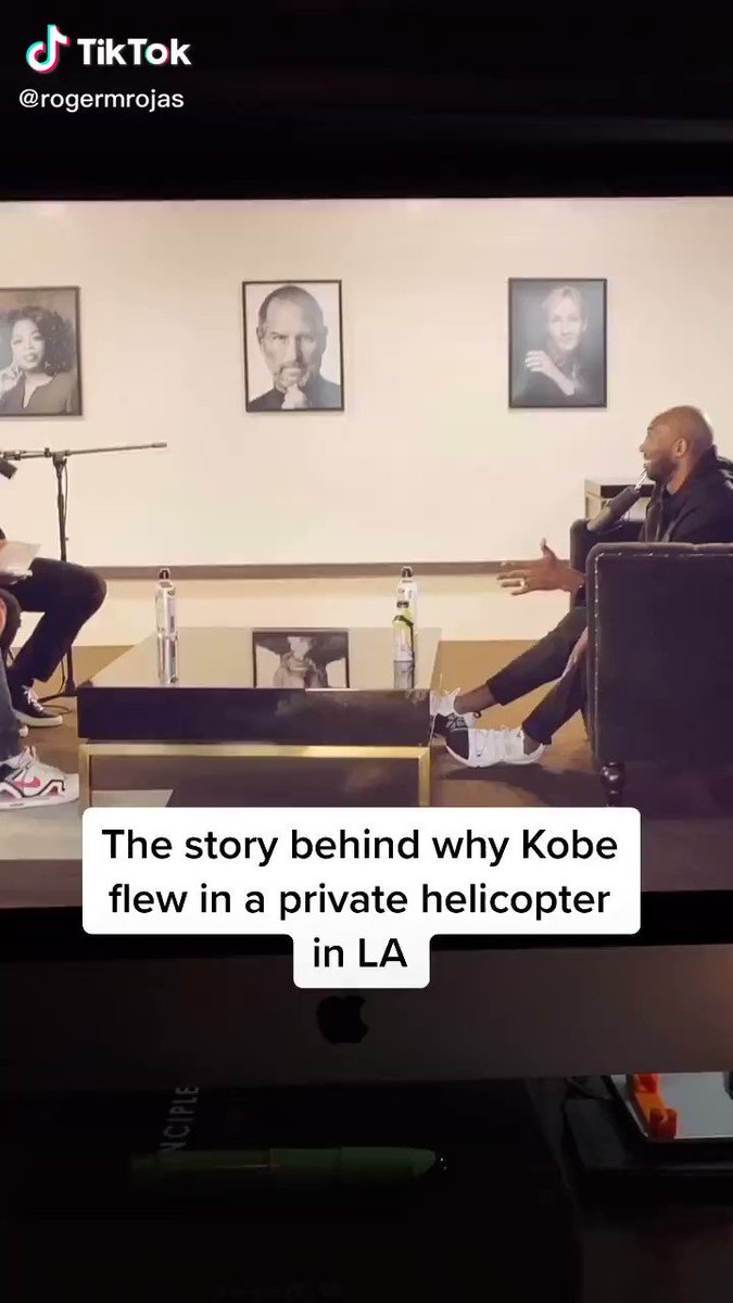 The story behind why Kobe flew in a private helicopters in LA 💔
