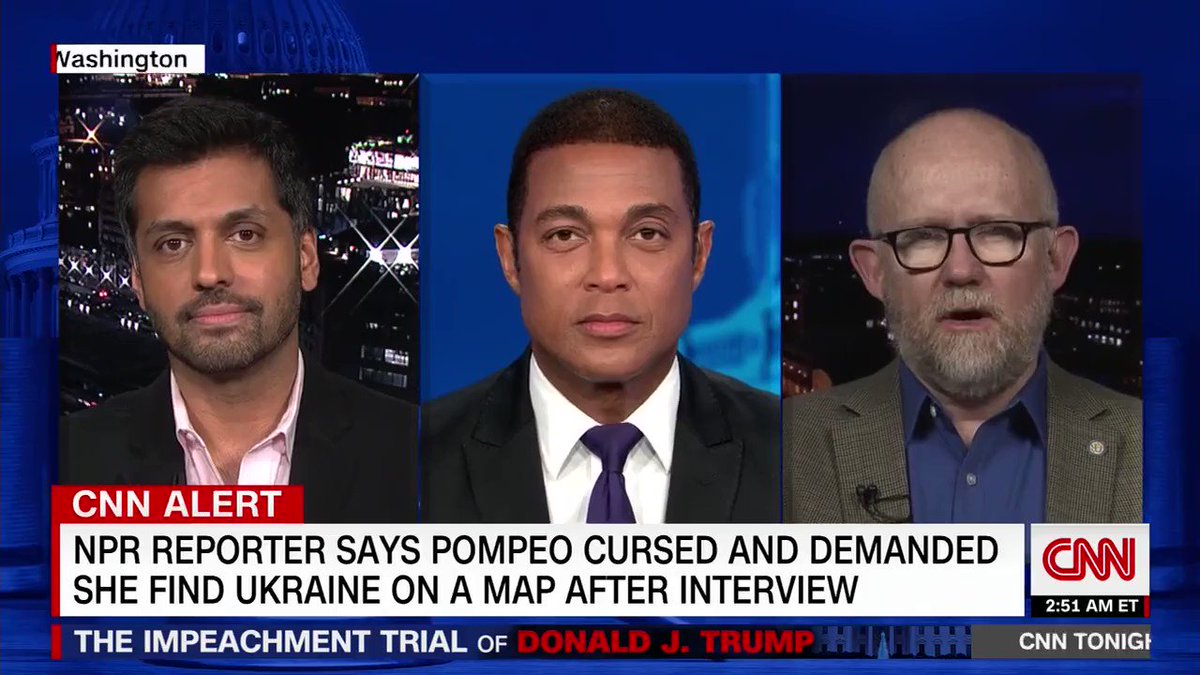 The arrogance, the dismissiveness, the smug cackling, the accents. If Donald Trump wins re-election this year, I'll remember this brief CNN segment late one Saturday night in January as the perfect encapsulation for why it happened.