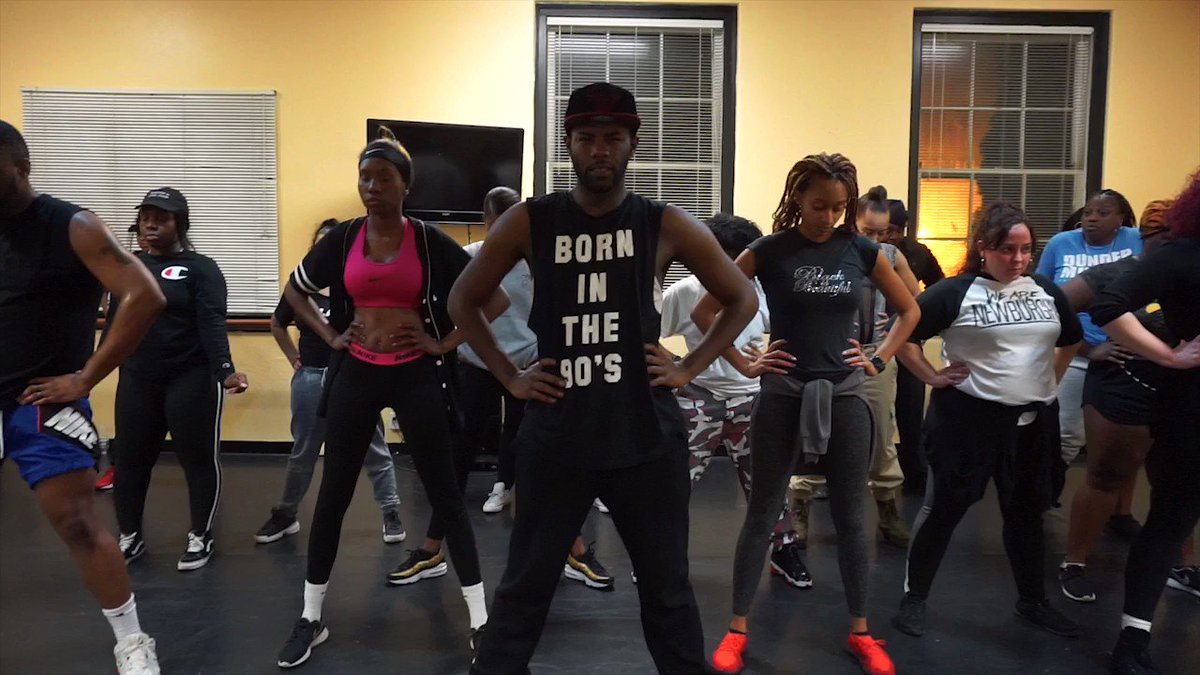 Check out the video from my Adult #Hiphop  #workshop , Get Hype!  Thank you to everyone that came through and #Dance  with me! It was dope!  We started off as one, and then I broke them into groups based on experience & confidence and then we ended together! #pressplay