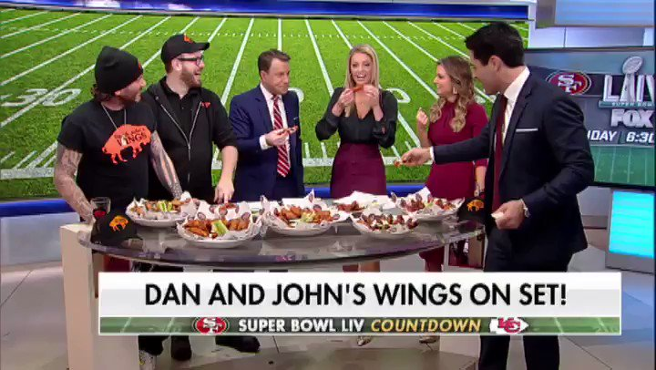 WHOOPS! Watch @CarleyShimkus try the spiciest wings from @DanAndJohns this morning!