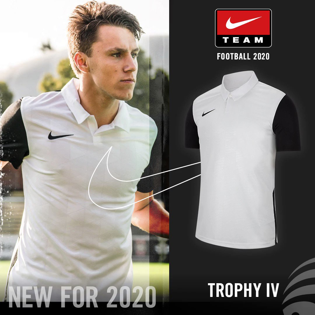Join the Nike family and win. 🏆  Trophy IV jersey available now from the new 2020 teamwear range.  Follow the link below! 👇     #directsoccer #nike #nikefootball #teamwear #2020 #justdoit #nikefamily #football