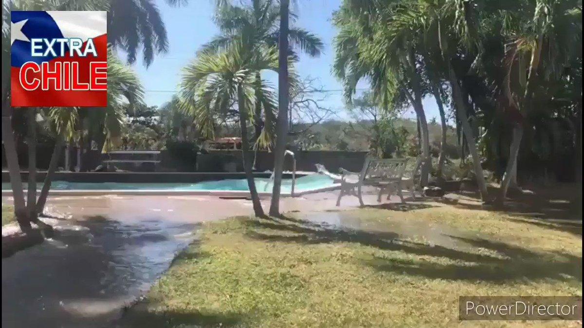 Image for the Tweet beginning: Terremoto de  #Jamaica asi se