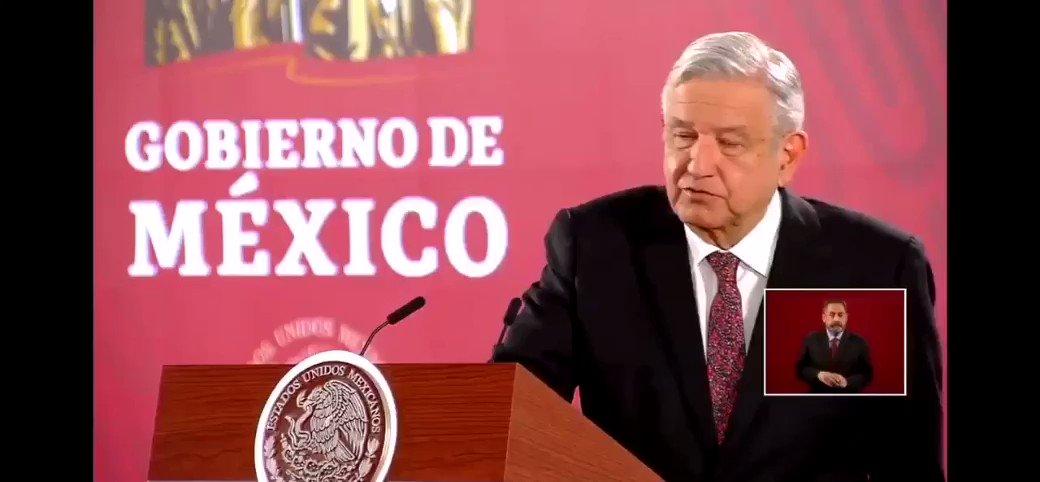 Image for the Tweet beginning: 🔴El Presidente @lopezobrador_ respondió con