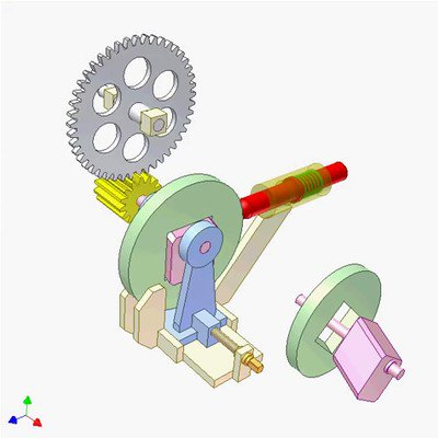 Cam and Wedge Mechanism