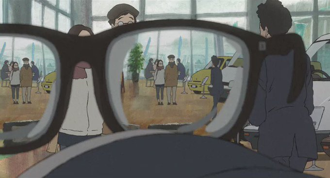 Key Animation: ???Short: Modest Heroes - Invisible (ちいさな英雄 -