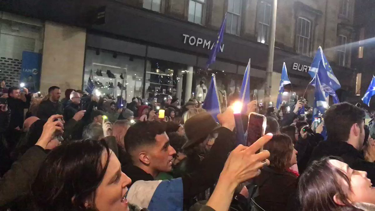 #Glasgow right now #IamEuropean #Brexit #BrexitDay