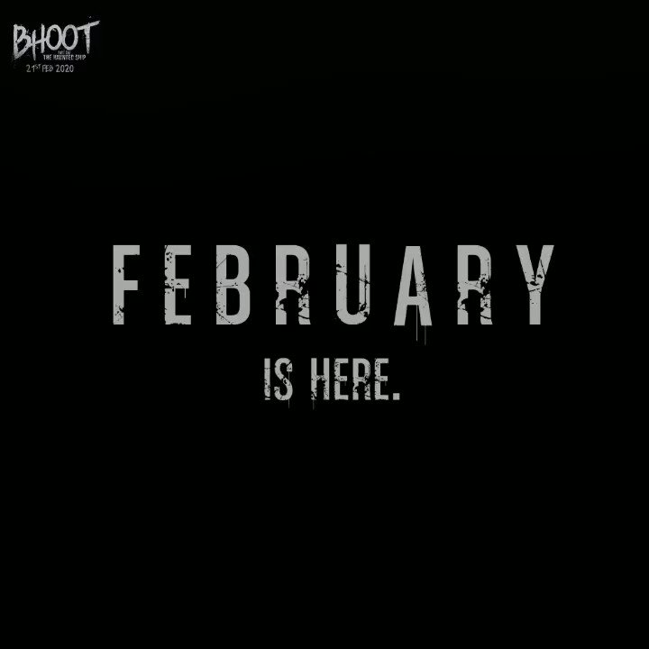 This February... Fear is in the air! #BhootTrailer3rdFeb