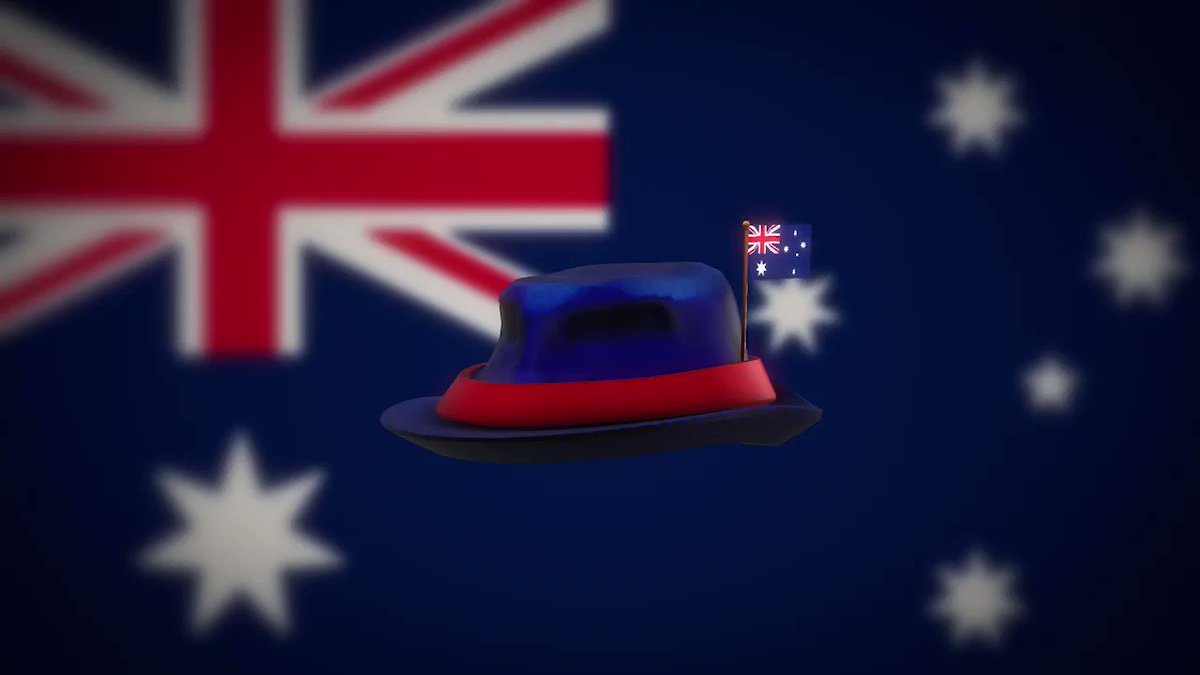 G'day, Ozzies! 🇦🇺 Show off your colors on Roblox with our latest international fedora: rblx.co/australia-fedo…