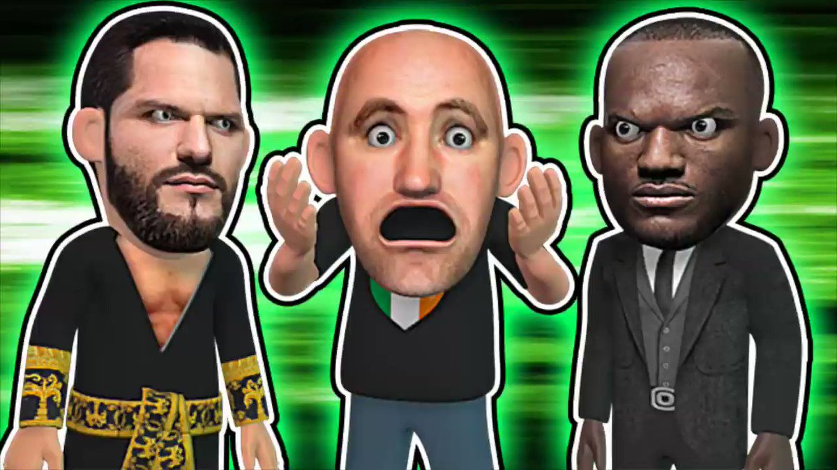 Dana White Announce Masvidal VS Usman By Mistake #Mistake #UFC #Animation #3D #3DArt