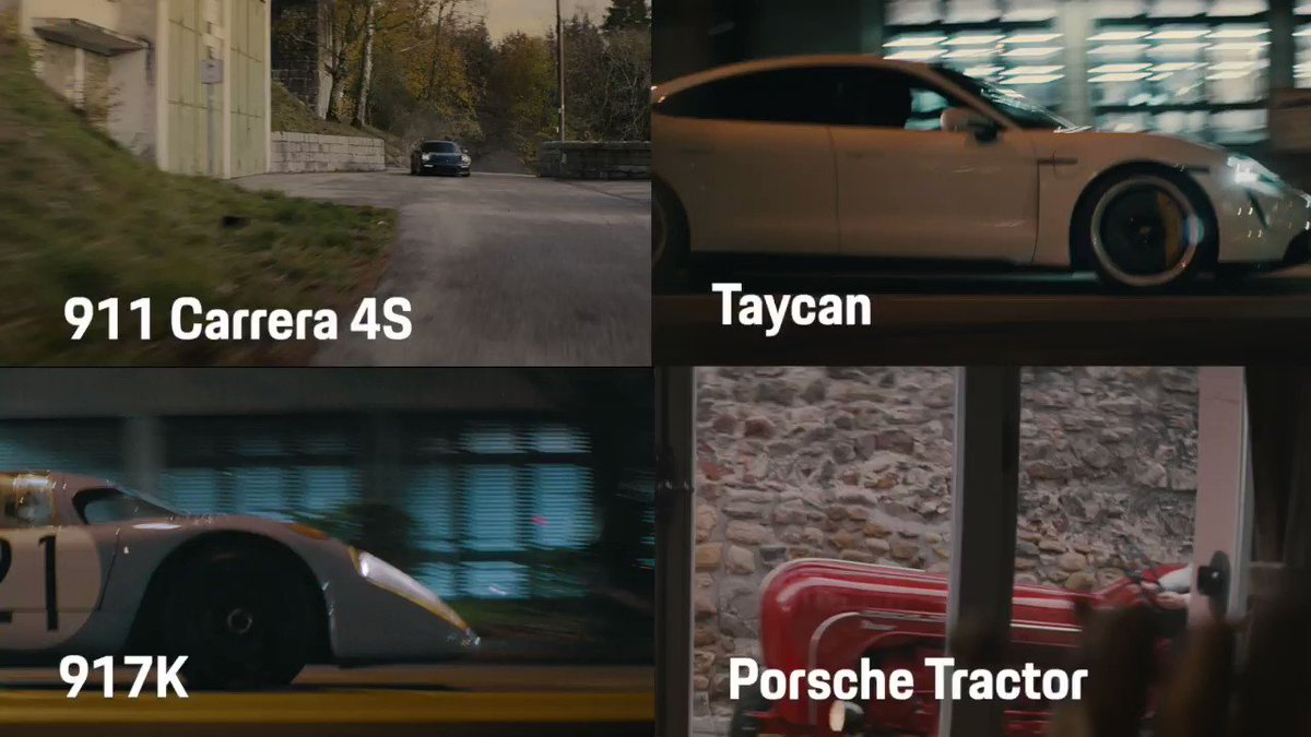 Of all the #Porsche cars which one would you choose to catch a stolen #Taycan? #FollowThatPorsche