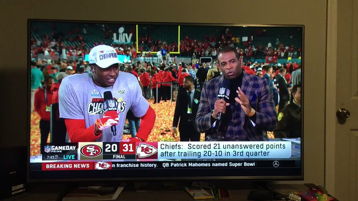 Ayeee @sammywatkins gave a shout out to @tae15adams regarding the route against Sherman during the Super Bowl post interview. #GoPackGo #Congrats #SBLIV #ChiefsKingdom #PackersvsChiefs next season 💪🏽