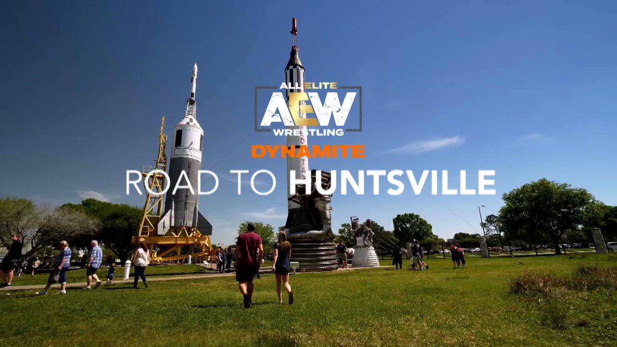 Road To Huntsville - #aew youtube.com/watch?v=YB4Le8… AEWtix.com @AEWrestling @AEWonTNT