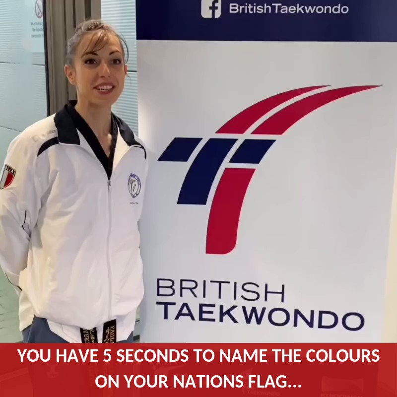 We played a game with some of the athletes at the GB Open Poomsae Championships ⏳ Head to our Instagram page to see the outtakes ➡️ Britishtaekwondo #GBOP2020