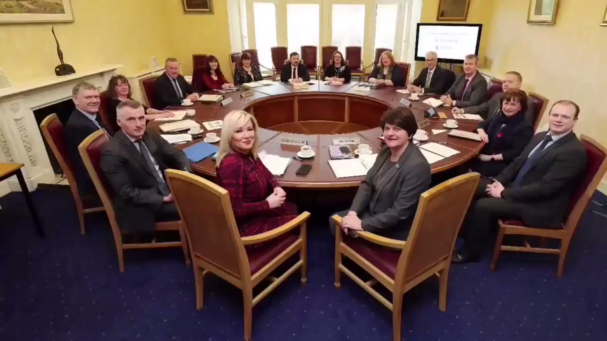 The Executive's new Brexit Sub-Committee met for the first time today. The five-party Committee has agreed to work together to address the implications of Brexit. Heres what the First Minister and deputy First Minister had to say⬇️