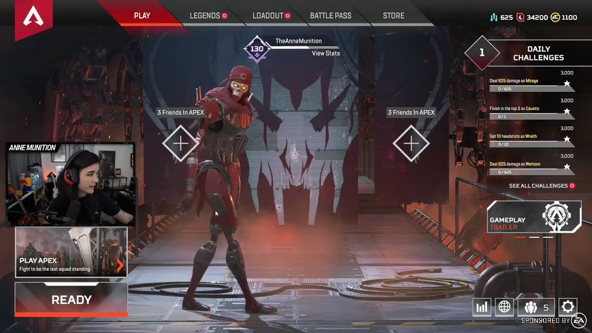Season 4 of @PlayApex is... not going very well for me so far. 😂