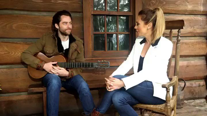 Ok @Outlander_STARZ fans... #droughtlander IS ALMOST OVER. Here's a little appetizer from my time in Scotland with the cast as they were shooting Season 5. And a serenade by @RikRankin to get you through the next week or so. My stories air next week, outlander weekend on @GMA