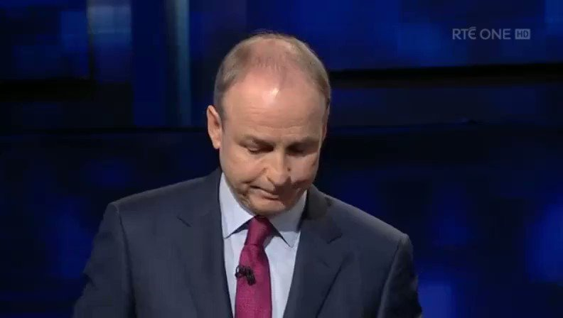 You wont hear a better explanation of how the housing crisis got to where it is -- Fianna Fáil was - & is - the party of property developers - and Fine Gael is the party of landlords. (😂 Micheál & Leo shaking their heads😂) #GE2020 #LeadersDebate #rtept