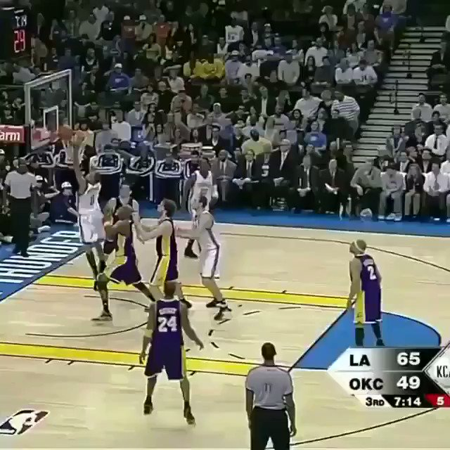 Kobe did KD dirty on this play😤