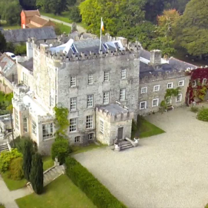 Image for the Tweet beginning: Delighted that CLONEGAL'S @HuntingtonCastl has