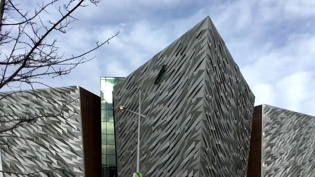 Junior Minister Gordon Lyons visits @TitanicBelfast to hear about the economic impact of the tourism landmark, and its future development plans.