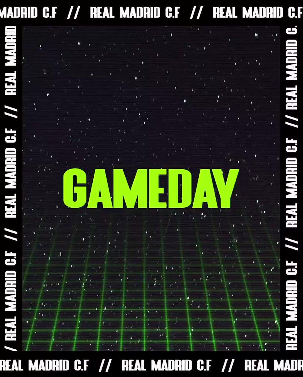 ¡ Día de partido ! Vamos 🔥⚽️⚔️  #RMCopa #Nueve #HalaMadrid