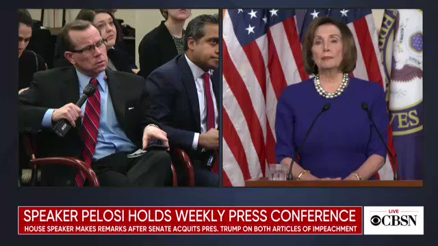 Nancy Pelosi shows what leaders should sound like