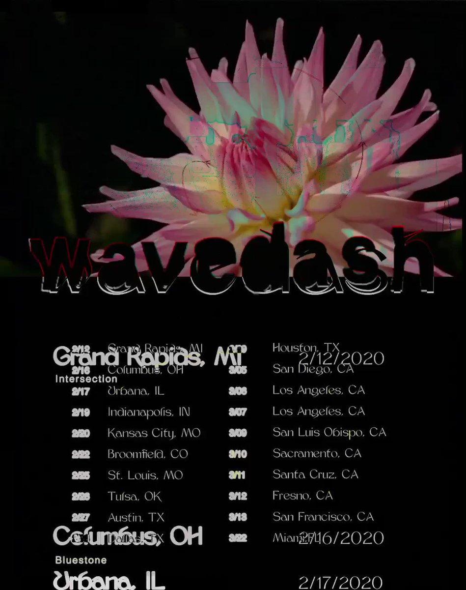 WAVEDASH TOUR 2020where will u be ?
