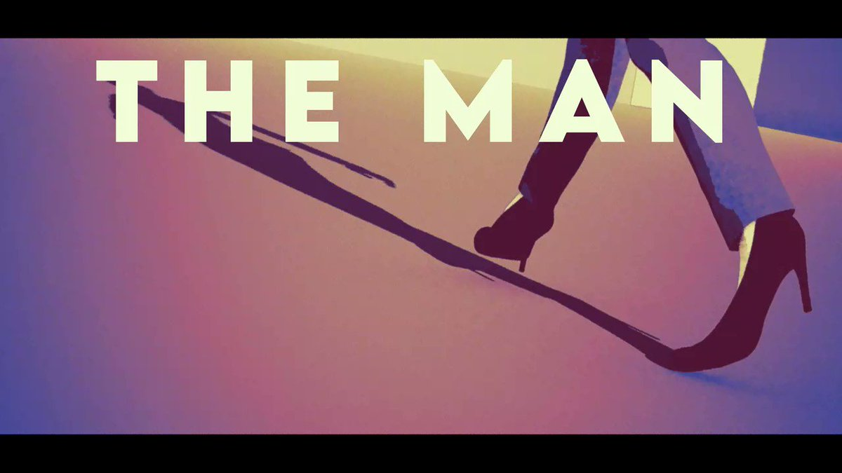 #TheManLyricVideo out tomorrow at Noon EST