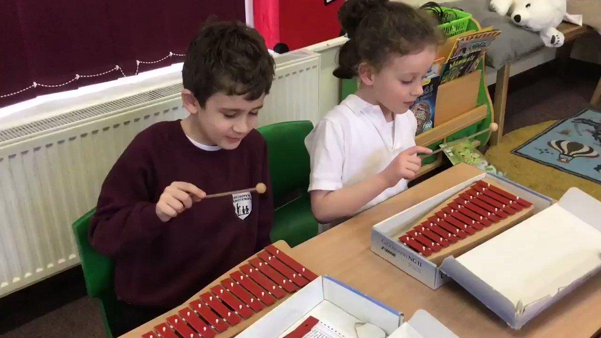 Image for the Tweet beginning: We're enjoying developing our glockenspiel