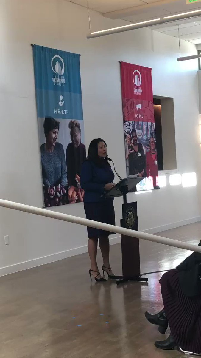 Honored to join Mayor @LondonBreed @TNDC at #RosaParks community celebration of #SFRAD's historic public/private partnership and @BankofAmerica's largest commitment to #affordablehousing