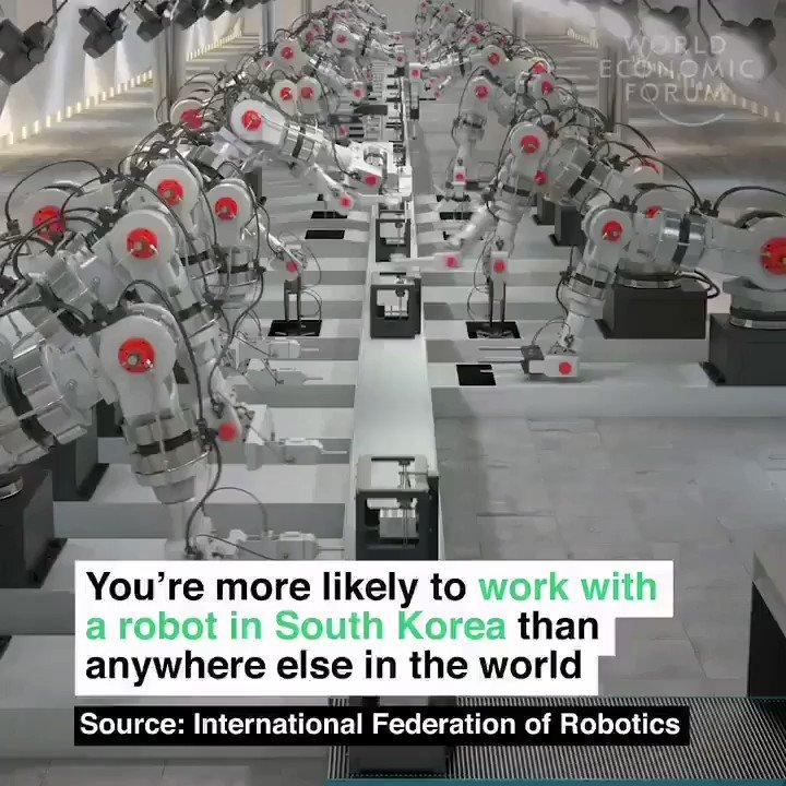 #5G and #robotics will shake up the industry! #AI #Robotics #5G #MWC20 @wef @jblefevre60