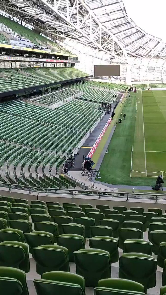 Image for the Tweet beginning: MATCH DAY...... #IREvWAL the stage