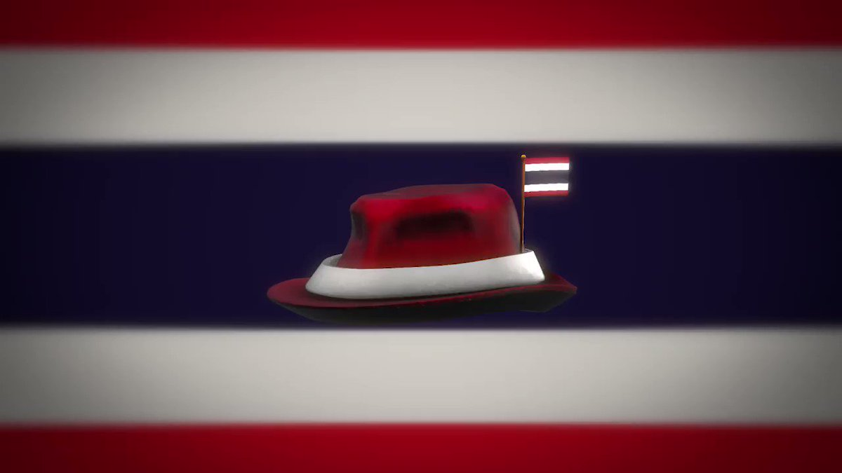 Thai Robloxians, represent! 🇹🇭 Show your pride with our newest national fedora: rblx.co/thai-fedora