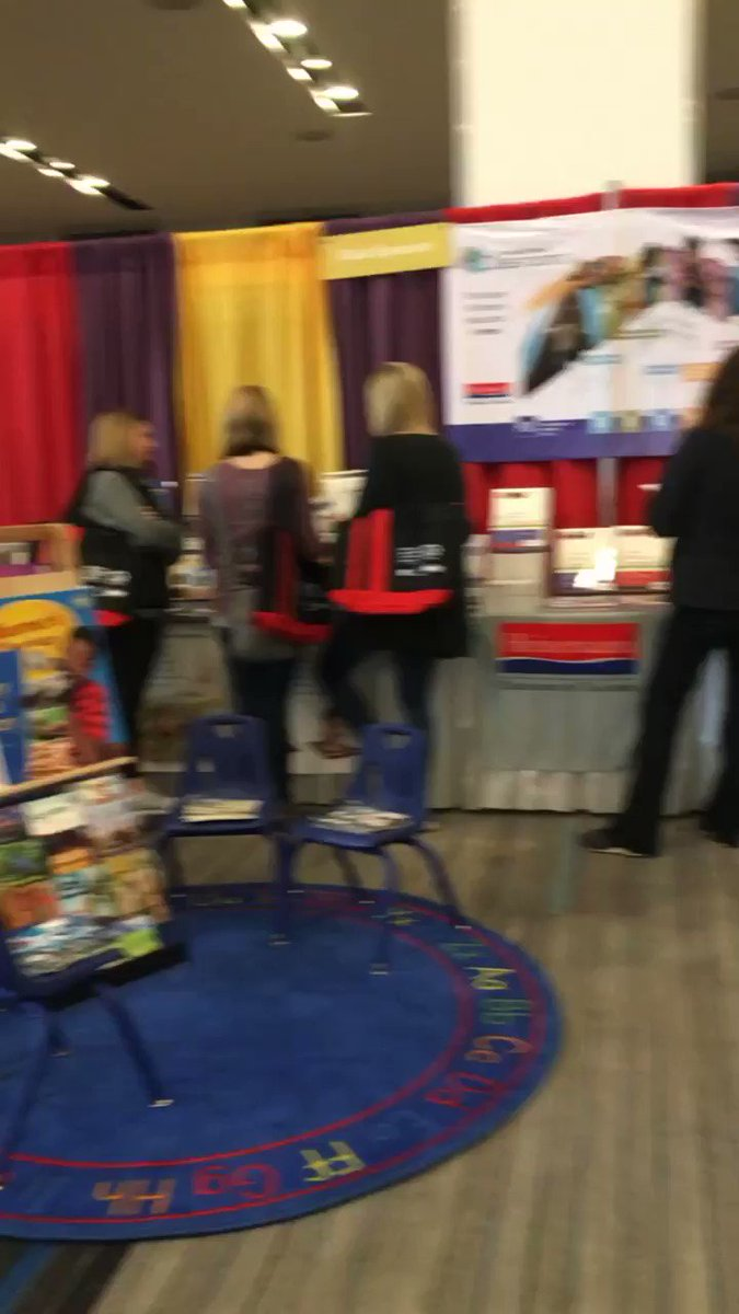 Check out our Fountas & Pinnell Classroom setup at Reading Recovery 2020! #nccbus #fpliteracy @rrcna_org