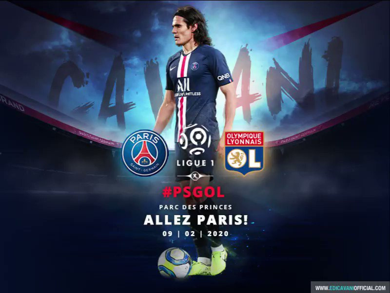 ALLEZ PARIS! #PSGOL