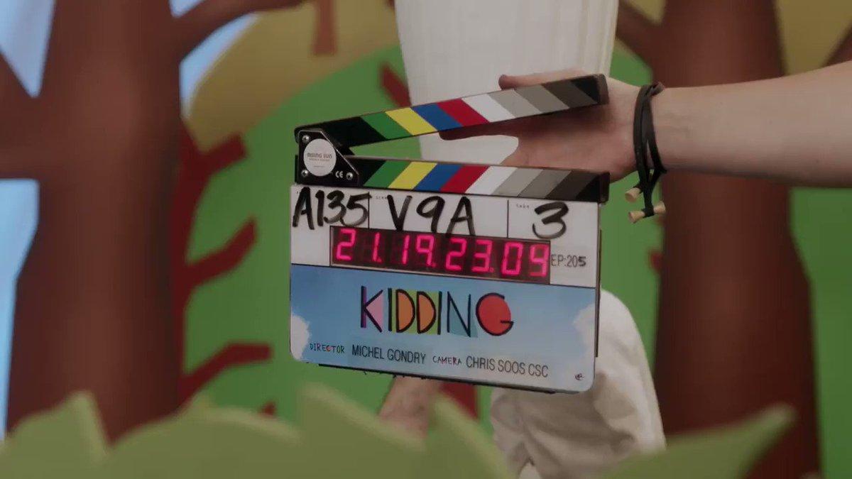 TONIGHT! Kidding Season 2 - Two episode premiere. 10P will you be watching the magic? #kidding @shokidding