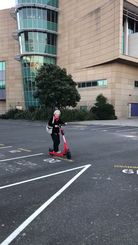 Replying to @ladyhaja: here's margaret atwood riding an electric scooter
