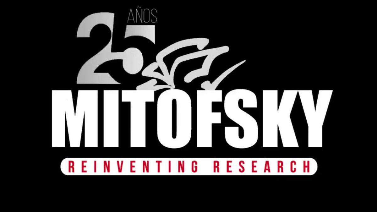 En #Mitofsky celebramos 25 años, agradecemos a todos los que de alguna forma han formado parte de la historia, la expansión y el crecimiento. Gracias por la confianza vamos por más @RoyCampos @Marcelo_Ortega
