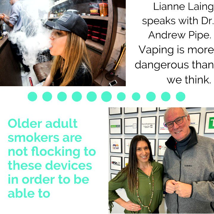 Had a chance to check out my latest podcast yet? #Vaping.... bit.ly/3bjsG0C