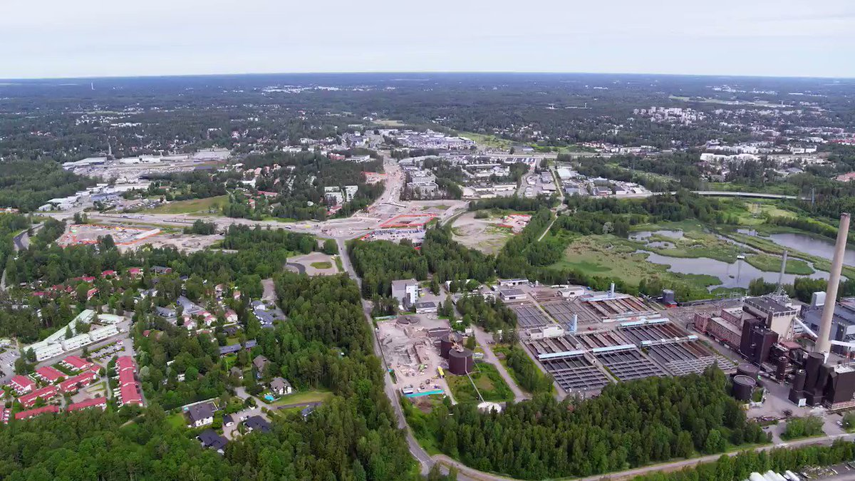 Finnoo will be built from the best bits: sustainable living, easy access to public transportation, offices, services, wetland and parks. Not to forget the best bit: the sea! #fromthebestbits #locateinespoo #finnoo #espoo