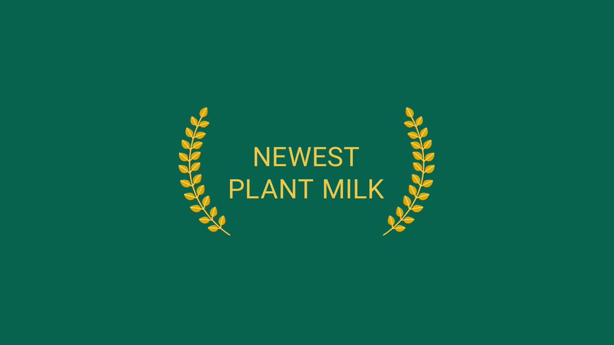 It's awards season and we can't think of a more worthy winner... move over Veggie Burger and Plant Milk, Marg has been doing her thing for more than 100 years! #plantbasedfuture